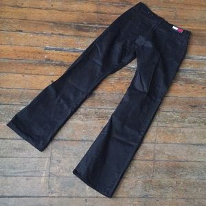 90's Tommy Hilfiger Black boot cut pants jeans